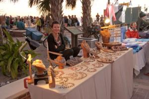 Booth at a Key West Street Fair