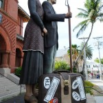 Outside of the Custom House, Key West, Florida