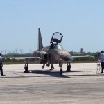 Navy Fighter that I got to see close up at the last air show held at NAS Key West.