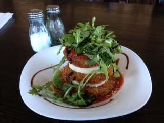 Famous key west recipes the key wester a key west information blog eggplant stack at roostica wood fire pizzeria in key west florida forumfinder Choice Image