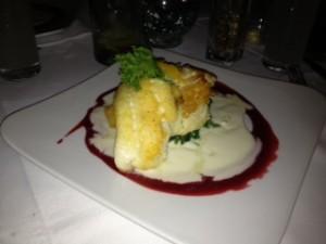 Hogfish dinner at Bagatelle