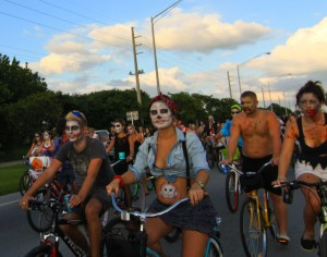 Fantasy Fest 2012 Key West Zombie Bike Ride