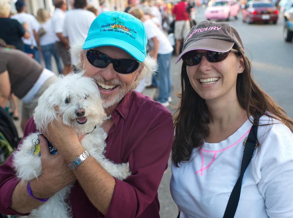howard livingston, Island Genn, Indiana Bones, Boat Parade, Key West