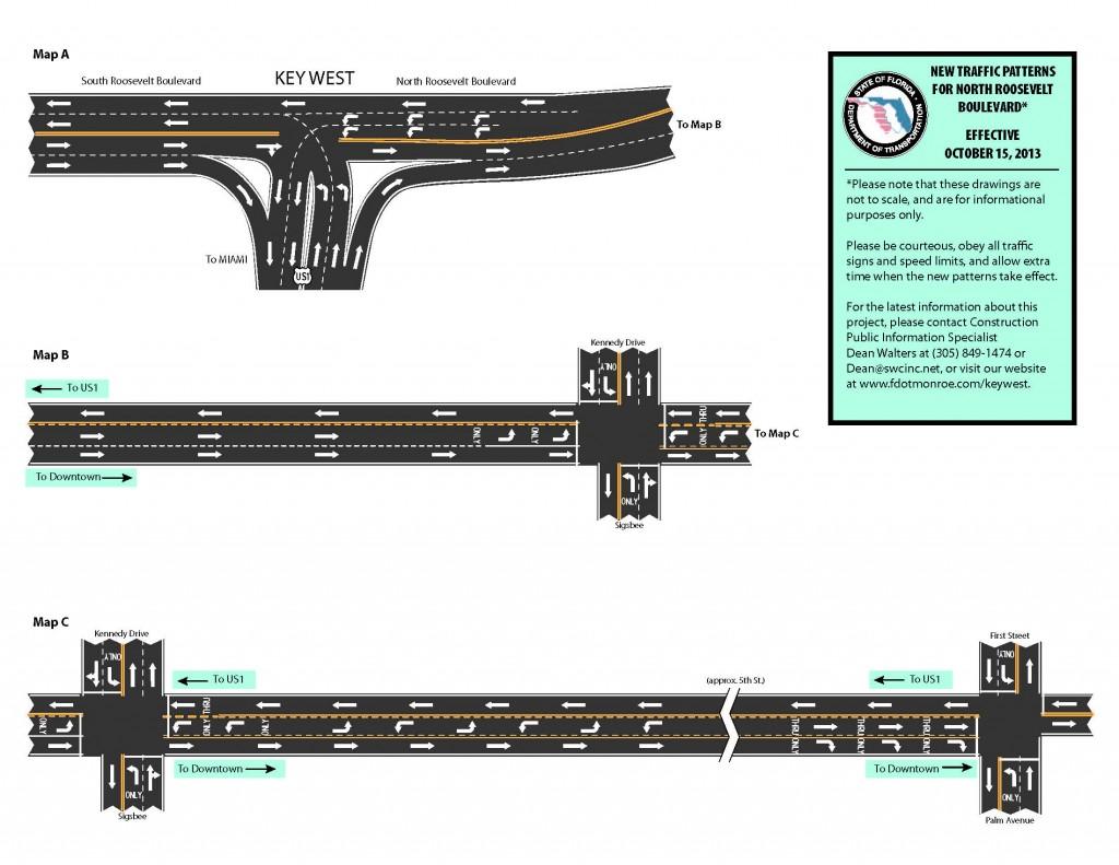 lane change road construction