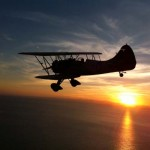 Key West Sunset from a Cabanas Aerobatics biplane