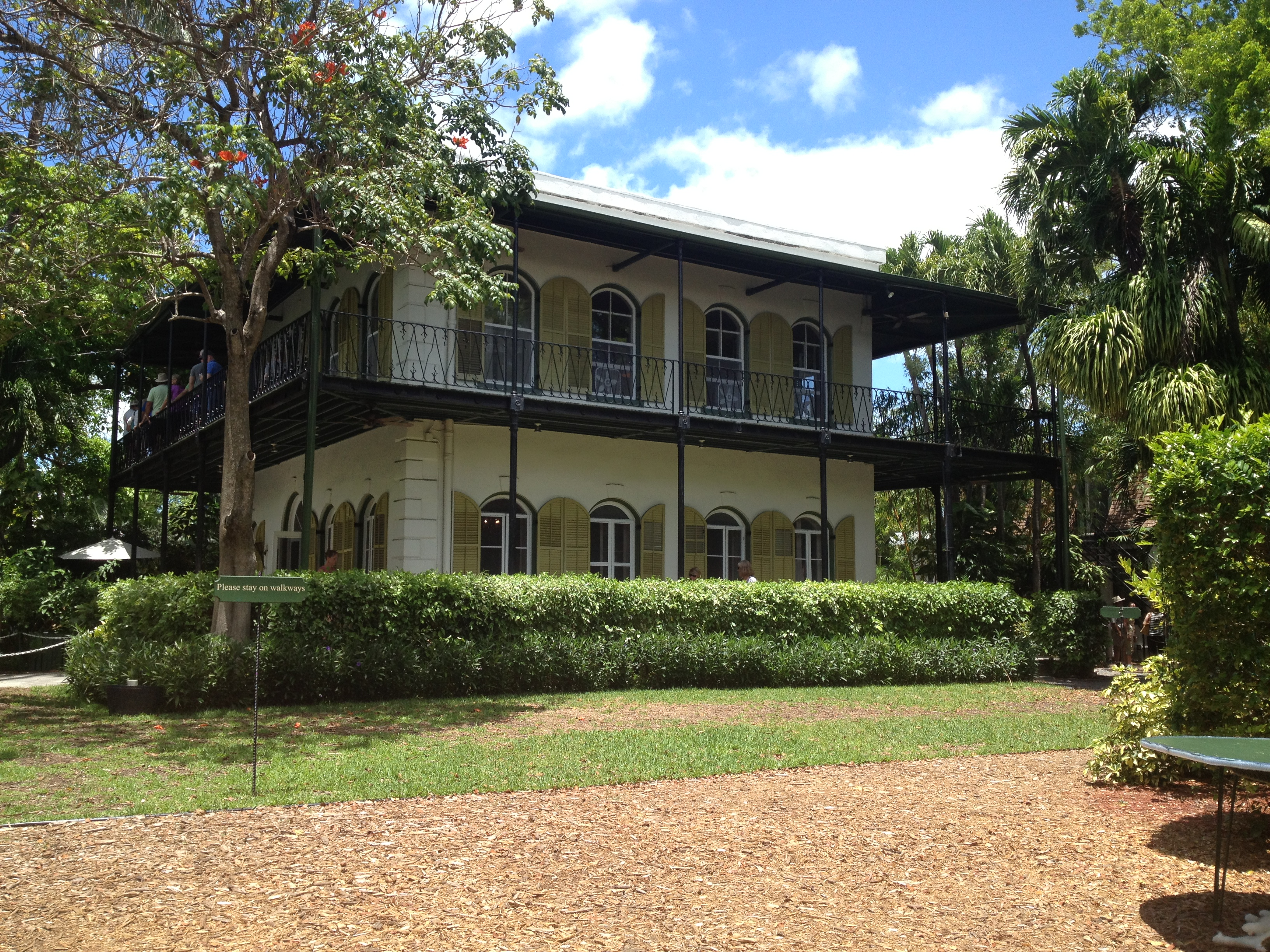 Ernest Hemingway Home And Museum The Key Wester A Key