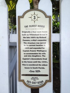 Key West Historical Markers
