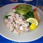 Shrimp Salad from Salute!