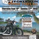 Key West PokerRun - Bike Week 2013 Poster