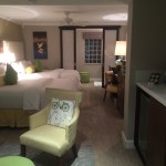 A room at the Almond Tree Inn on Truman Ave in Key West, Florida.
