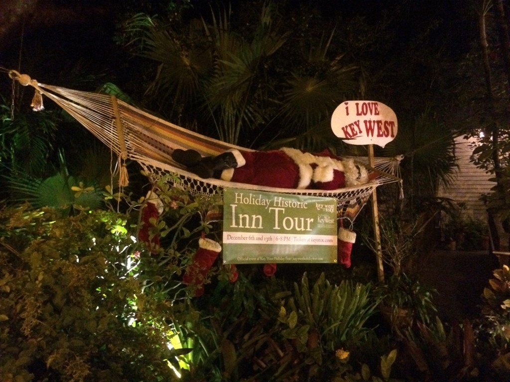 Key West inn Christmas tour