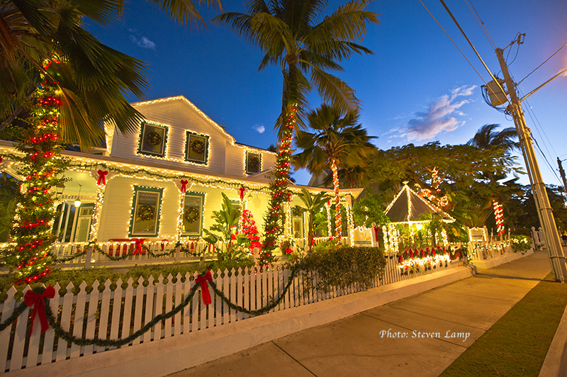 key west Christmas lights