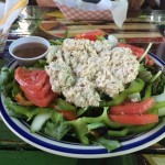 The Dill Tuna Salad at Lobos's in Key West.