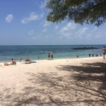 The beach at Fort Zachary Taylor State Park.