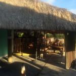 Entrance to Geiger Key Marina Restaurant and Tiki Bar