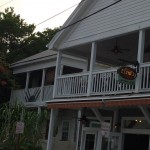 The outside of Firefly Restaurant on Petronia Street in Key West.