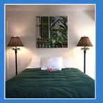 A room at Alexander Palms.