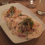 Seared Tuna Tacos at FISH, the new seafood restaurant on Saddlebunch Key!