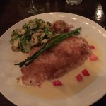 The fish special at Bistro Sole