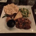 The Vegetarian Platter.