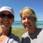 Here is Island Genn (me) and by friend Pam taking a selfie at Bahia Honda.