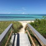 Walking to the beach at Bahia Honda