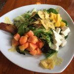 Island Passion Salad at Key West's Blue Macaw