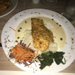 The signature yellowtail snapper dish at Bliss in Key West.
