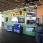 Key Largo Fisheries order and pick up counter