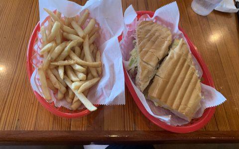 Cuban Mix Sandwich at El Siboney in Key West.