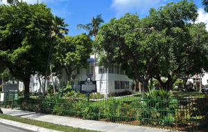 Harry Truman Little White House in Truman Annex, Key West, FL.
