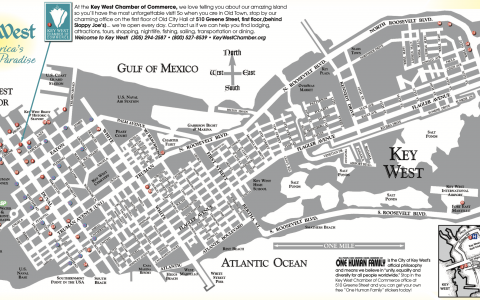 Key West Visitors Map