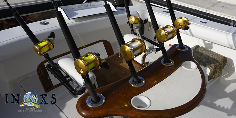 deep sea fishing fighting chair. Murray Brothers