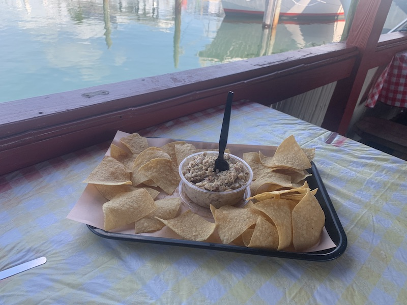 Smoked BBQ Key West fish dip